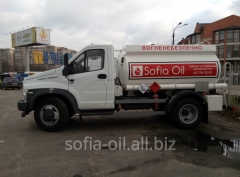 Delivery of gasoline, diesel fuel, euro 5