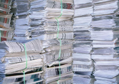 Export of waste paper