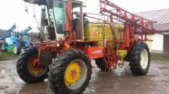 Services in spraying of fields