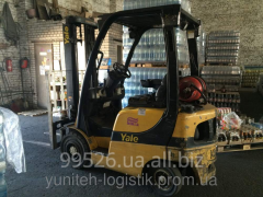 Loader in leasing of YALE GLP16, 2006, gas