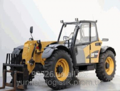 Rent - the Telescopic loader of Caterpillar