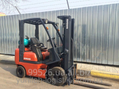 Rent of loader of Nissan PDO1A18PQ, gas, 2000,