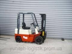 Rent - Nissan FJ01A15 loader, 1999, triplex, 1.5
