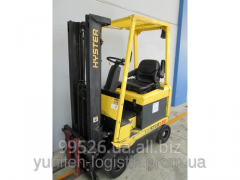 Rent Loader fork electro 2001 of Hyster H1.50XM,