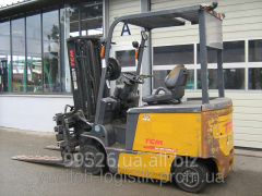 Rent - the Loader fork electro 2006 of TCM FB 25,