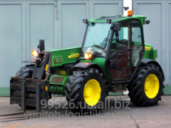 Rent - the Telescopic loader of John Deere 3200 II