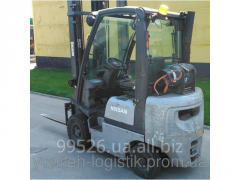 Rent of loader of Nissan PD01A18PQ, gas, 2002,