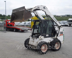 Rent - Pass Bobcat S160 loader, 2007