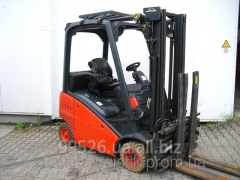 Rent of the Loader fork gas 2007 of Linde H16/391,