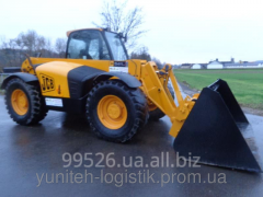 Rent of telescopic loader of JCB 541-70, 2006