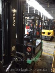 Rent of fork loader of Still R20-16, electro,