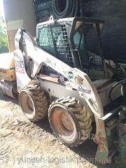 Rent - Pass Bobcat S185 loader, 2002, 840 kg, 2.6m