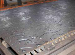 Cutting is laser, cutting of sheet metal