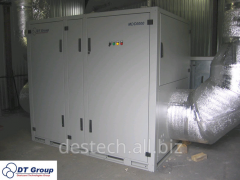 Delivery of dehumidifiers of air