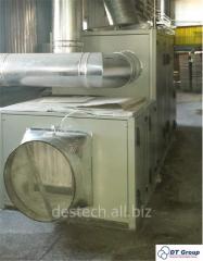 Repair of dehumidifiers of air