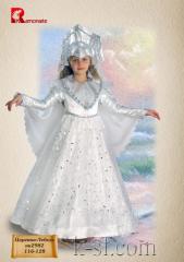 """Hire of a carnival costume """"Tsarevna"""