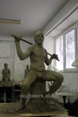 Скульптура з фотографії