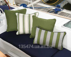 Production of awnings for yachts and boats