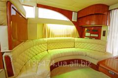 Пошив, изготовление сидушек для RIB лодок