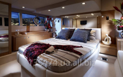 Tailoring of pillows for yachts, boats