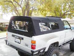 Banner of inside of the car velor