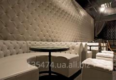 Перетяжка мебели для клубов