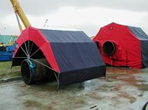 Пошив, изготовление тентов, укрытий для строительных материалов