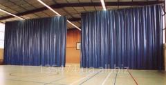 Пошив защитных штор завесов для ангаров