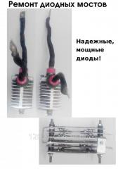 Repair of diode bridges.