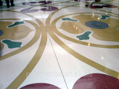 "Inlaid floors of ""Terrazz"
