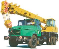 Rent of the truck crane