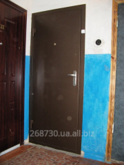 Installation of metal doors