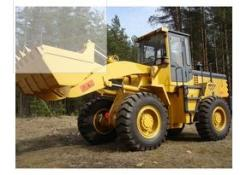 Lease of the wheel loader in Ukraine