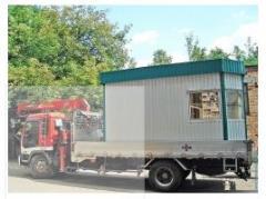 Transportation of trade stalls Fastov