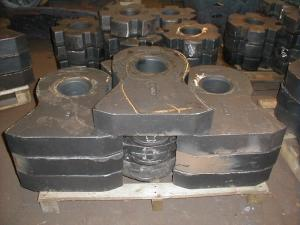 Production of model equipment for molding on the