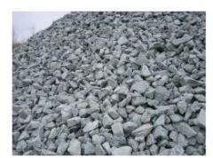 Delivery of crushed stone to building Fastov