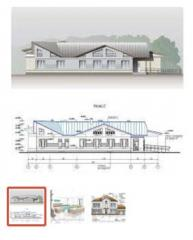 Architectural visualization of the house