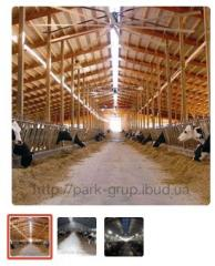 Construction of a cowshed