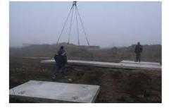 Laying of road plates Fastov
