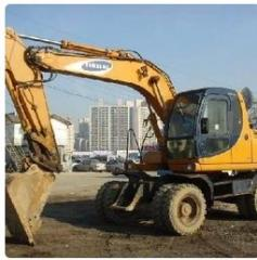 Digging of the base excavator Fastov