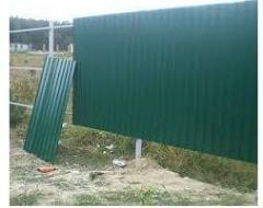 Installation of fences