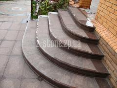 Laying of marble and granite in Zaporizhia