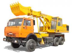 Capital repairs of UDS-114, 214 excavators