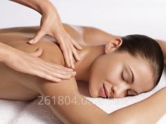 Massage of a back