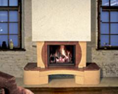 Facing of fireplaces of Amfora