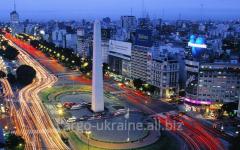 Авиаперевозка грузовая международная в Аргентину