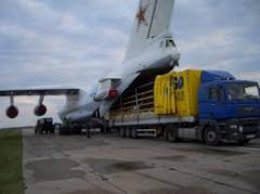 Perishable freight air transportation