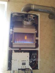 Ремонт газових , твердопаливних, електричних котлів та сервіс систем опалення