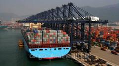 Морских контейнерных перевозок из Китая по...