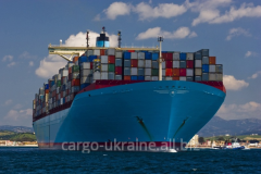Sea cargo transportation from the USA